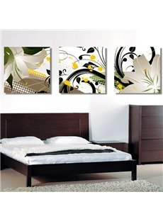 New Arrival Gorgeous White Flowers Blossom Canvas Wall Prints