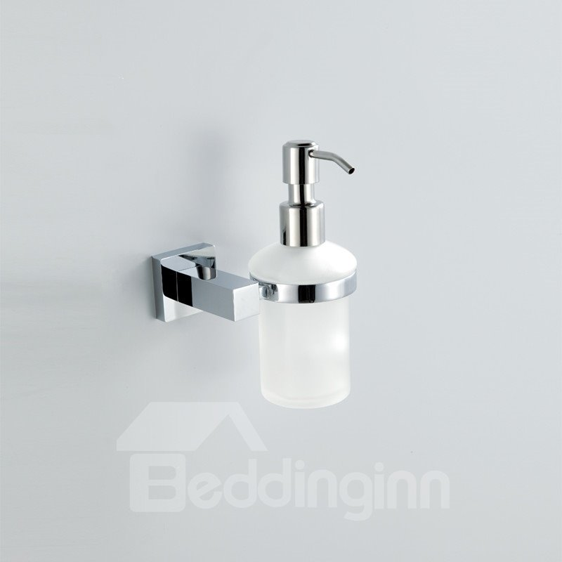Amazing Chrome Finish Holder Soap Dispenser