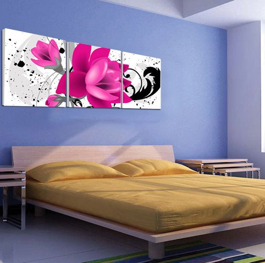 New Arrival Delicate and Cute Flowers Canvas Wall Prints