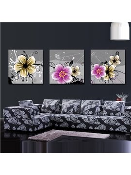 New Arrival Lovely and Colorful Flowers Blossom Canvas Wall Prints