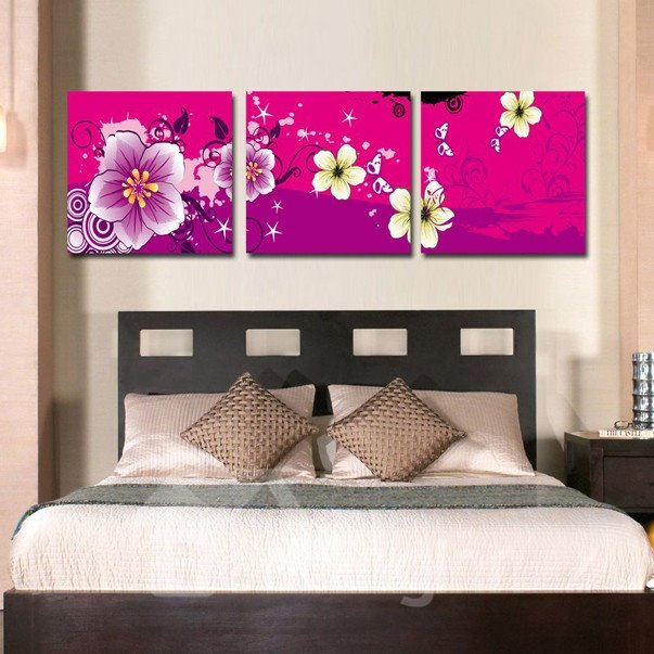 New Arrival Lovely and Fancy Flowers Canvas Wall Prints