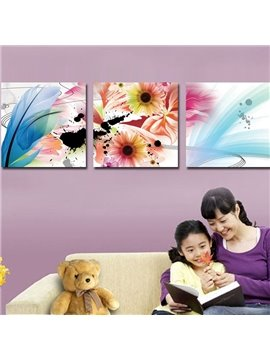 New Arrival Fancy and Colorful Flowers Blossom Canvas Wall Prints