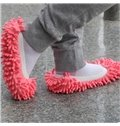 A Pair of Comfortable Lazy Versatile Absorbent Wipe Slippers