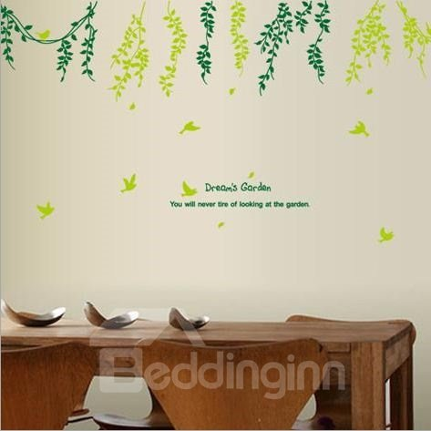 New Arrival Dream's Garden Wall Stickers