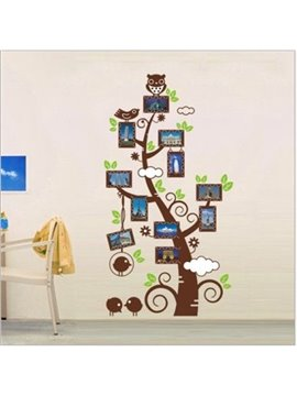 New Arrival Bird and Owl Photo Wall Stickers