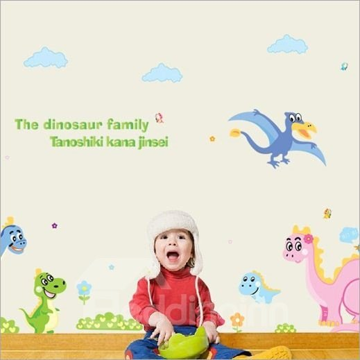 New Arrival Dinosaur Family Wall Stickers