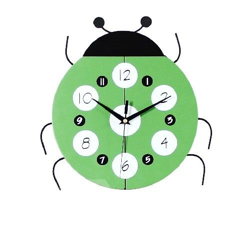 Hot Selling Amazing Creative Spot Ladybird Wall Clock
