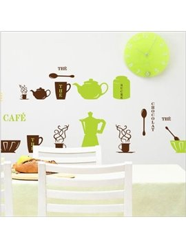 New Arrival Tableware and Tea Sets Wall Stickers
