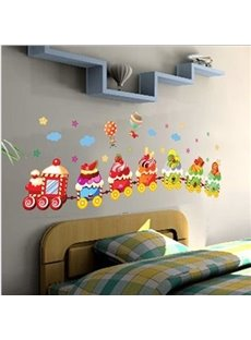 New Arrival Ice Cream Train Wall Stickers