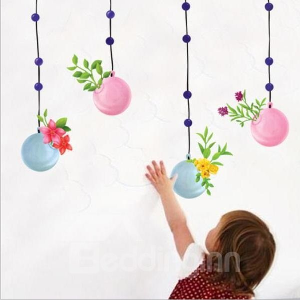New Arrival Colorful Baloon Wall Stickers