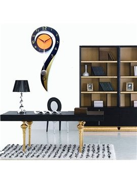 Gorgeous Fashionable Creative Number Nine Wall Clock