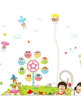 New Arrival Happy Adventure Playground Wall Stickers