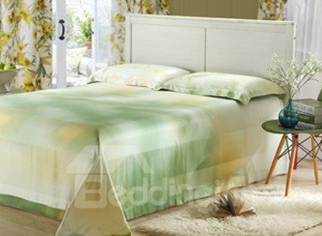 High Quality  Beautiful Floral Patterns 4 Pieces Tencel Bedding Sets