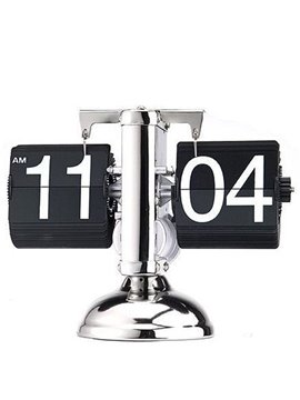 Creative Classic Retro Scale-shaped Flip Table Clock
