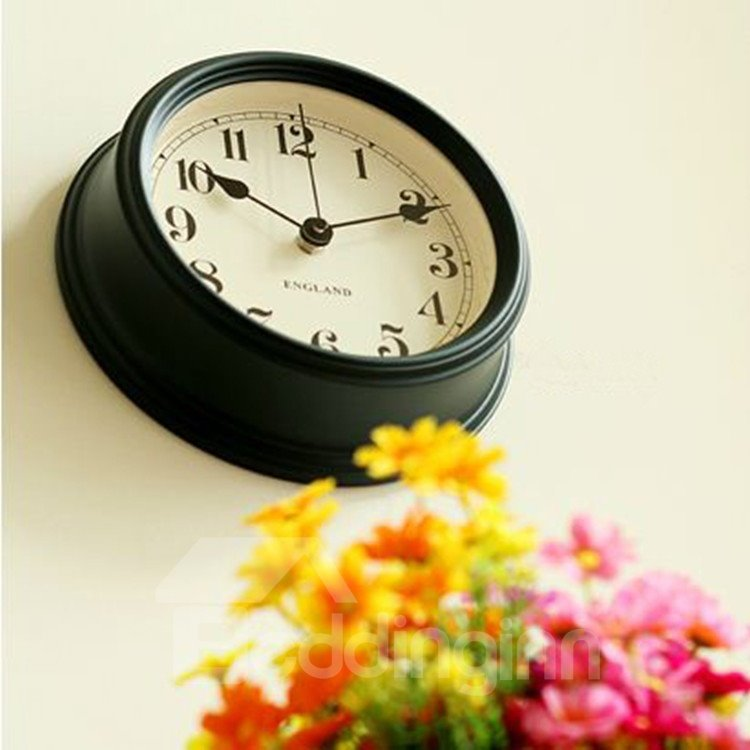 European Style Elegant Classic Round Wall Clock