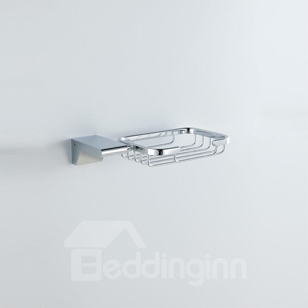 Bathroom Accessories Solid Brass Soap Shallow Basket - beddinginn.com