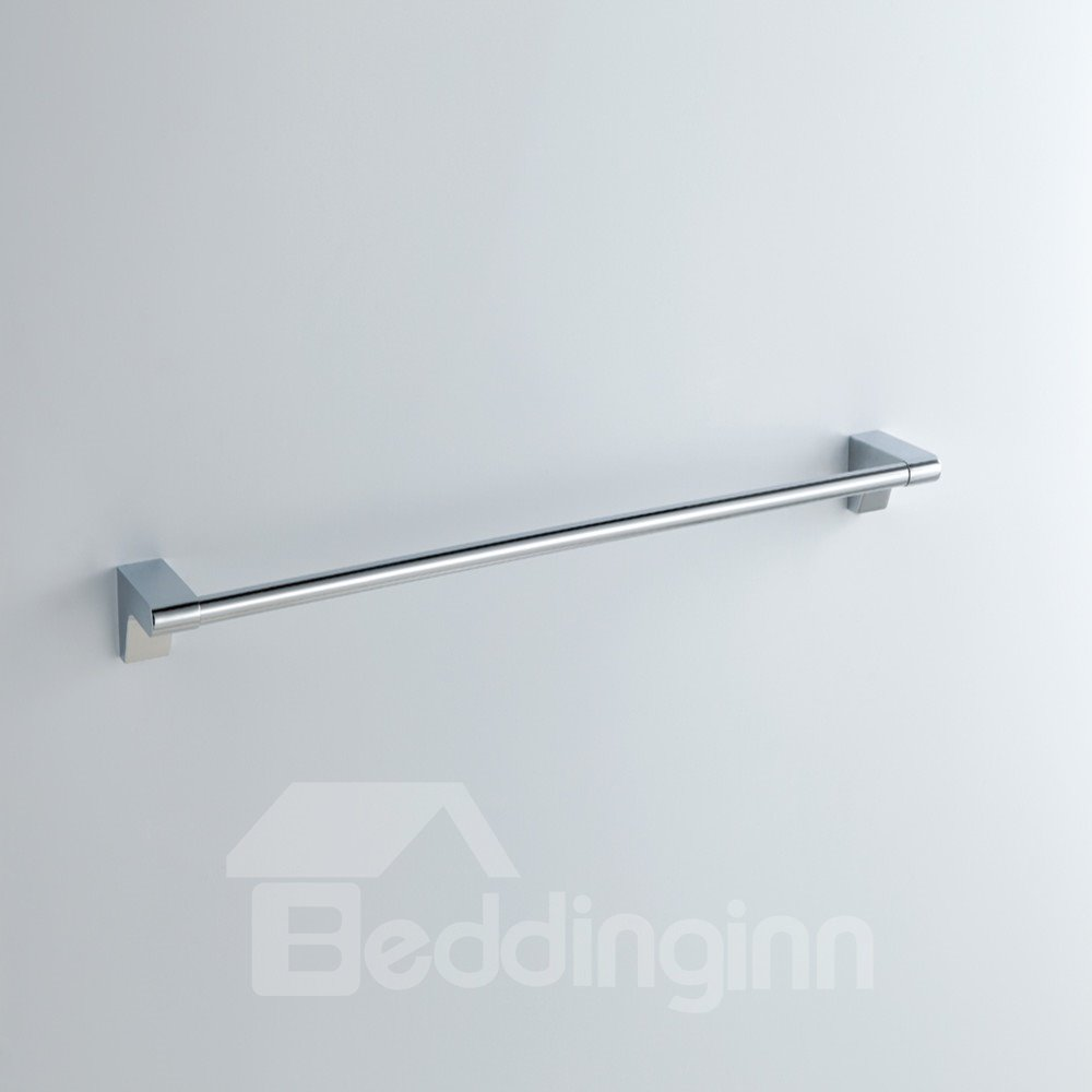 Chrome Finish Contemporary Style Stainless Steel Towel Bars
