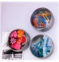 New Style Creative Functional Storage Boxes Shape 3-Pieces Fridge Magnet