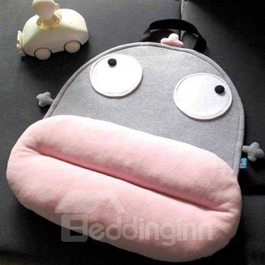 Big Face Doll Fancy Cute Cartoon Back Cushion