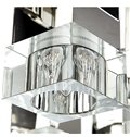 Amazing Square Shape Cryatal 9 Lights Flush Mount