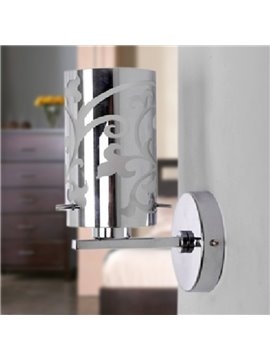 Elegant Modern Style Metal Material Wall Light
