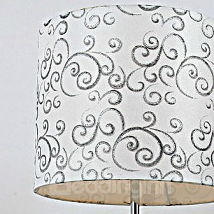Contemporary Beautiful Flower Patterns 1 Light Table Lamp