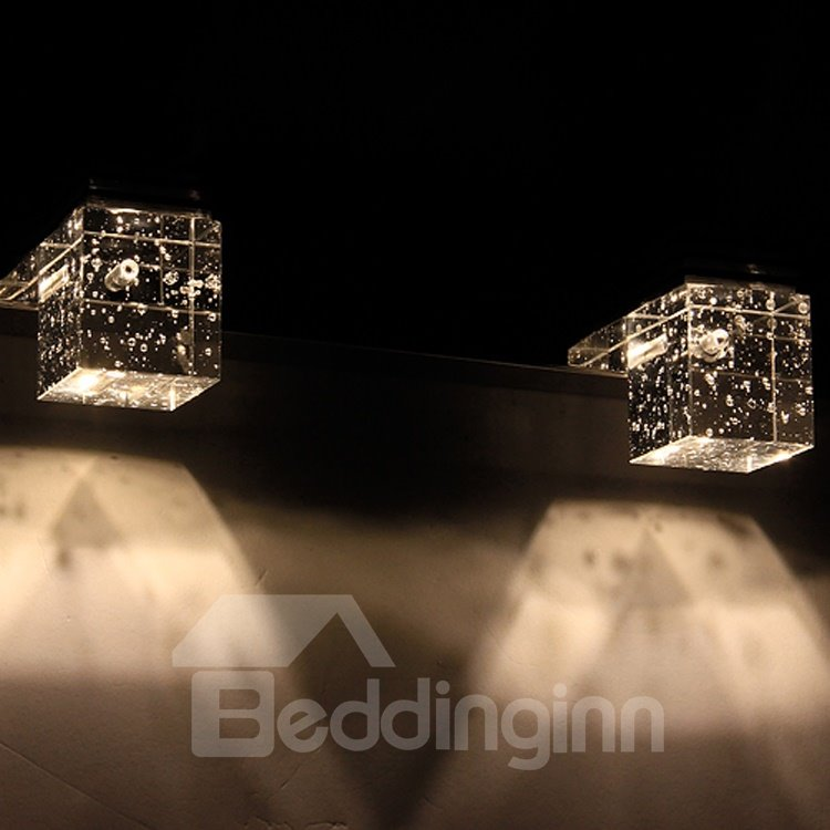 Amazing Unique Style Crystal 3 Heads Wall Light