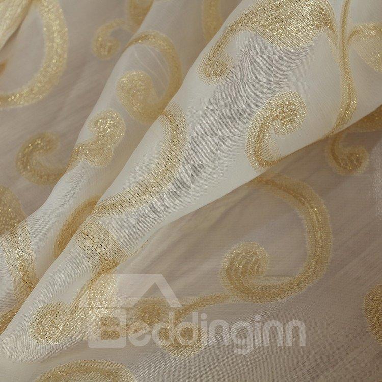 Amazing Luxurious Beautiful Patterns Grommet Top  Custom Curtain