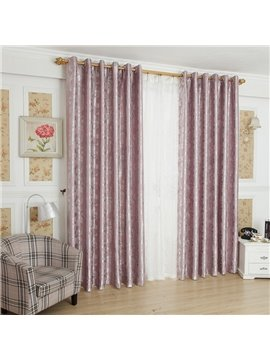 Elegant Luxurious Beautiful Patterns Grommet Top Custom Curtain