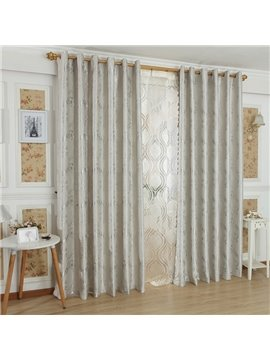 High Quality Luxurious Beautiful Patterns Grommet Top Custom Curtain