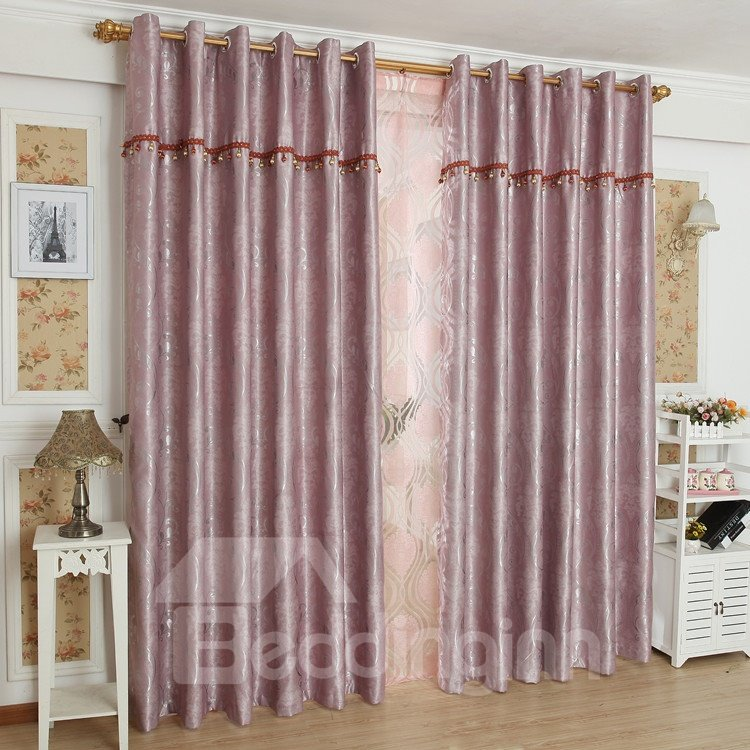 High Quality Pretty Patterns Grommet Top Custom Curtain
