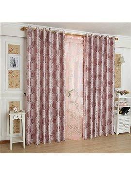 Fantastic Contemporary Beautiful Pattern Grommet Top Custom Curtain