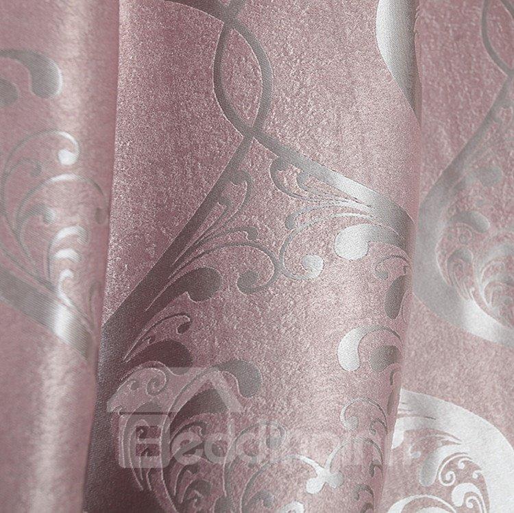 Fabulous Contemporary Beautiful Pattern Grommet Top Custom Curtain