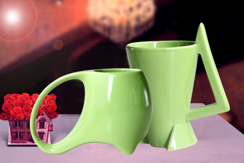 New Arrival Amazing Creative Ceramic Couple Mugs