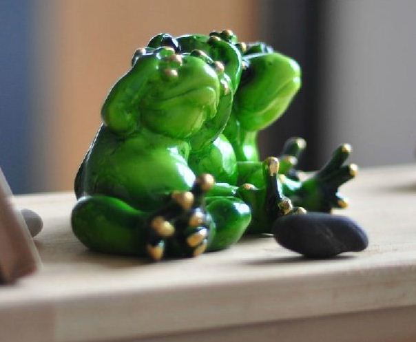 Amazing Stylish Naughty Creative Frog Partners Ornament