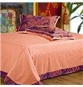 Gorgeous Rose Print 100% Cotton 4-Piece Duvet Cover Sets