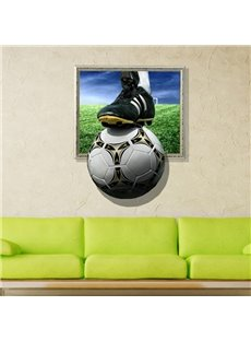 New Arrival Glamorous 3D Football Wall Sticker