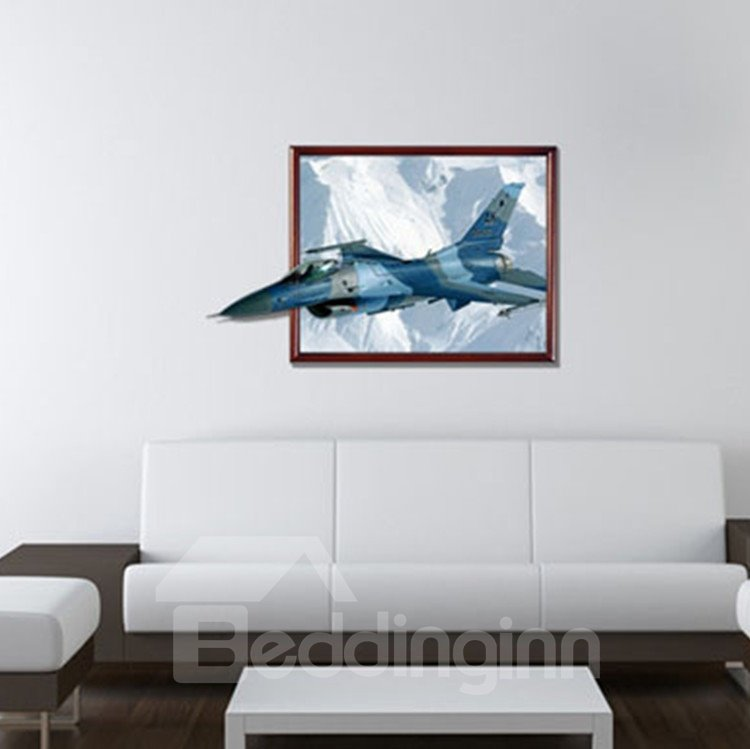 New Arrival Amazing 3D Aircraft Wall Sticker