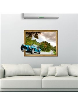 New Arrival Amazing 3D Car Wall Sticker