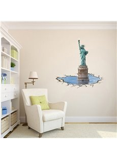 Amazing 3D Statue of Liberty Wall Sticker