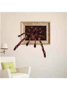 Stunning Style Creative 3D Spider Wall Sticker