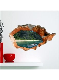 Amazing Creative 3D Beautiful Scenery Wall Sticker