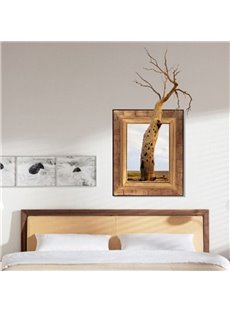 Amazing Creative 3D Dead Tree Wall Sticker