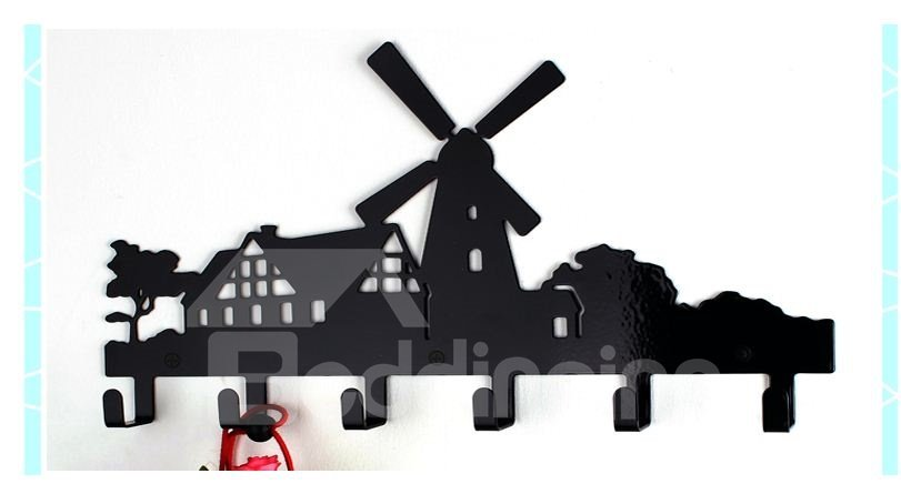 New Arrival Farm Scenery Style Stainless Steel Hook