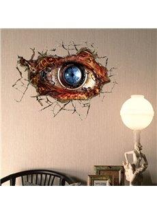 Stunning Creative 3D Machine Eye Wall Sticker