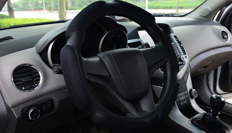 Thick High Quality Solid Color Fashion Steering Wheel Cover