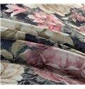 Secret Garden Total Flowers Print 4-Piece Duvet Cover Sets