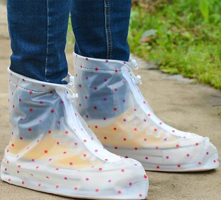 Waterproof Design Fashion for Men&Women One Pair of Shoe Covers