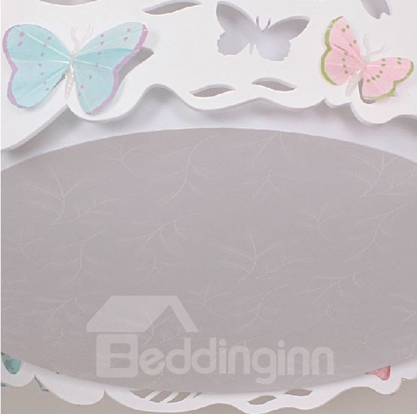 Moden Simple Style Beautiful Butterflies Design Flush Mount
