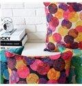 Fancy Colorful Polka Dot Pattern Pillowcase